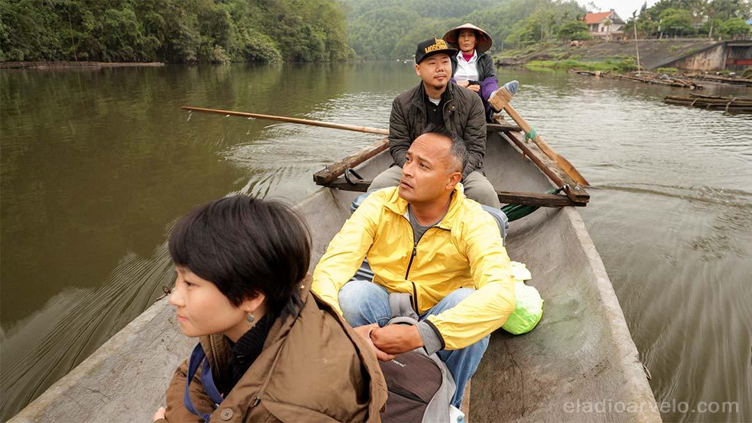 Shareef Haq visits a tea farm island just outside Hanoi.